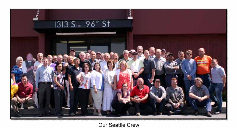 Our Seattle Crew